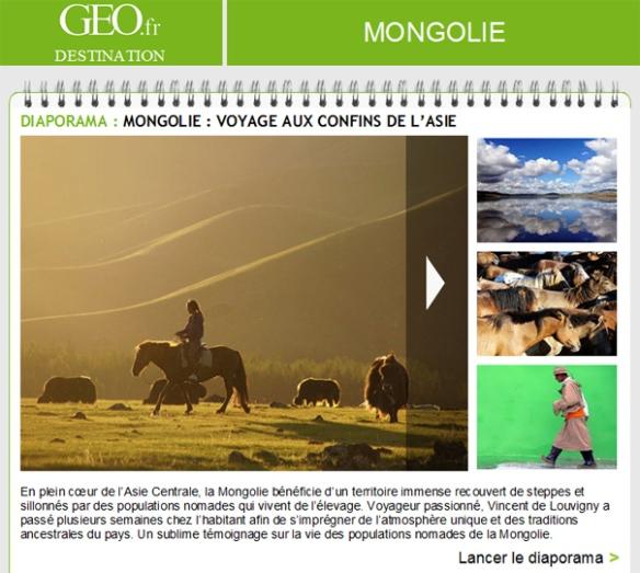 Mongolie, voyage aux confins de l'Asie - Geo.fr