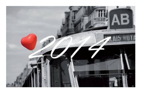 Open Your Com, partenaire de l'exposition Imager le Mode, vous souhaite une année 2014 pleine de rêves et d'aventures.