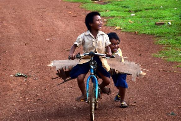 La bicyclette sans pneu